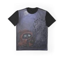 Bad Wolf Meets Little Red Graphic T-Shirt