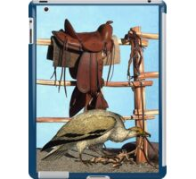 WELCOME TO THE WILD WEST iPad Case/Skin