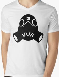 Roadhog Black Mens V-Neck T-Shirt