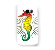 Seahorse with Reggae Music Flag Colors! Samsung Galaxy Case/Skin