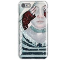 Little Red Riding Hood steampunk Illustration iPhone Case/Skin