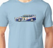 Ford Escort Mk5 RS Cosworth Group A Rally Monte Carlo (1994) Unisex T-Shirt