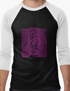 JOY DIVISION PINK  Men's Baseball ¾ T-Shirt