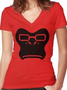 Winston Black Women's Fitted V-Neck T-Shirt