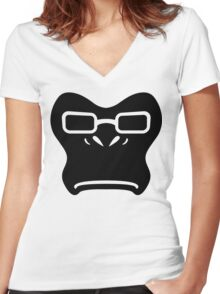 Winston Black Women's Fitted V-Neck T-Shirt