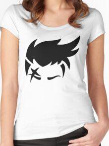 Zarya Black Women's Fitted Scoop T-Shirt