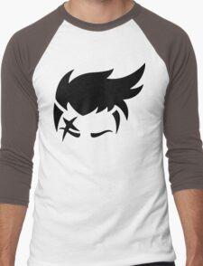 Zarya Black Men's Baseball ¾ T-Shirt