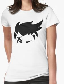 Zarya Black Womens Fitted T-Shirt