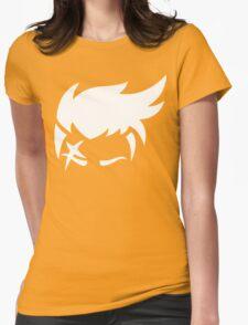 Zarya White Womens Fitted T-Shirt