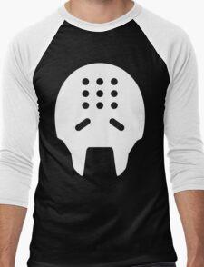 Zenyatta White Men's Baseball ¾ T-Shirt