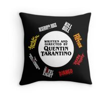 Quentin Tarantino Films Throw Pillow