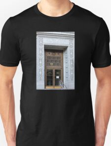 The (Very Ornate) Doorway to the Federal Building Unisex T-Shirt