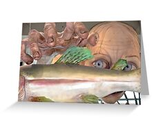 Smeagol Golum figure Greeting Card