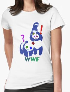 WWF multicolour Womens Fitted T-Shirt