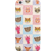 Set of animals 3 iPhone Case/Skin