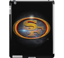 San Francisco 49ers - Men of Gold Emblem iPad Case/Skin