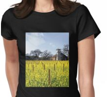 Napa Valley - Water Tower Womens Fitted T-Shirt