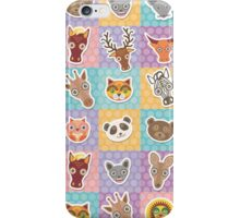 Set of animals 2 iPhone Case/Skin