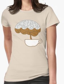Have Caffeine. Will Brain. Womens Fitted T-Shirt