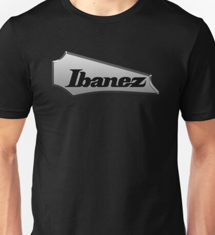 Guitar Ibanez HeadStock Metal Unisex T-Shirt