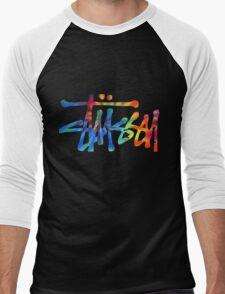 Stussy Colorful Logo Men's Baseball ¾ T-Shirt