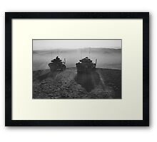 Cavalry in Overwatch Framed Print