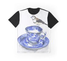 High Tea Double Barred Finch Graphic T-Shirt