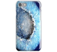 Blue Crystal Geode iPhone Case/Skin