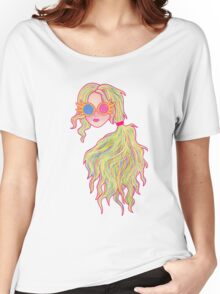 Psychedelic Luna Lovegood Women's Relaxed Fit T-Shirt
