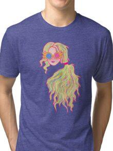 Psychedelic Luna Lovegood Tri-blend T-Shirt