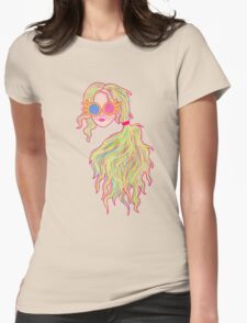 Psychedelic Luna Lovegood Womens Fitted T-Shirt