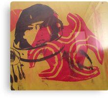 (Silk screen print ) Astronaut Bio Hazard   Canvas Print