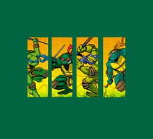 TMNT Super Hero Attack Unisex T-Shirt