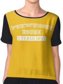 Pukwudgie House Ilvermorny Chiffon Top