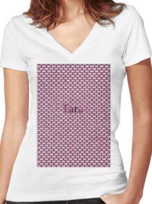 Tara Women's Fitted V-Neck T-Shirt