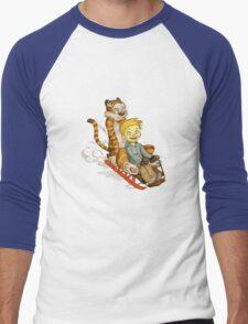 Calvin And Hobbes Speed Men's Baseball ¾ T-Shirt