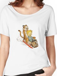 Calvin And Hobbes Speed Women's Relaxed Fit T-Shirt