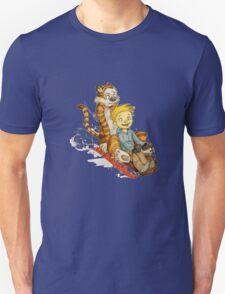Calvin And Hobbes Speed Unisex T-Shirt