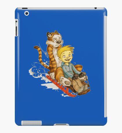 Calvin And Hobbes Speed iPad Case/Skin
