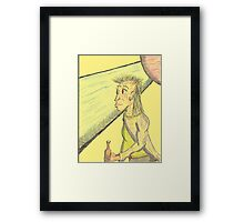 don't you know who I am Framed Print