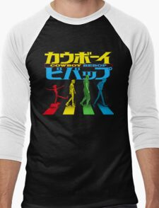 Kaubōi Bibappu ( カウボーイビバップ ) Men's Baseball ¾ T-Shirt