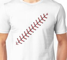 Baseball Lace Background 2 Unisex T-Shirt