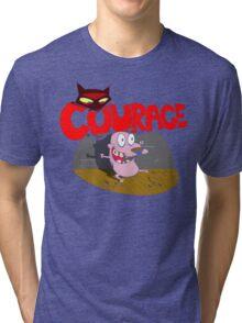 The Courage Beagle Tri-blend T-Shirt