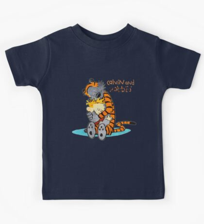 Calvin and hobbes Hugs Kids Tee