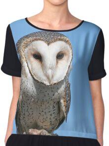 Masked owl Chiffon Top