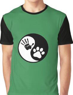 Hand Print Graphic T-Shirt