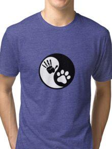 Hand Print Tri-blend T-Shirt