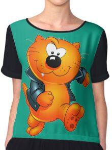 Heathcliff  Chiffon Top