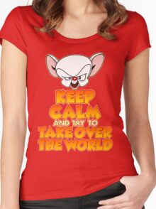 The Brain's Quote Women's Fitted Scoop T-Shirt