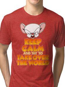 The Brain's Quote Tri-blend T-Shirt